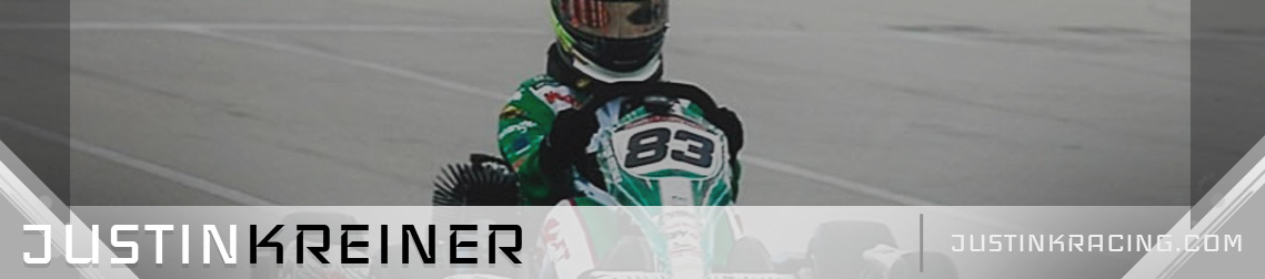 Justin K Racing Karting Driver Website