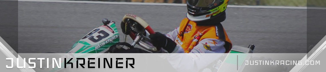 Justin K Racing Karting Website